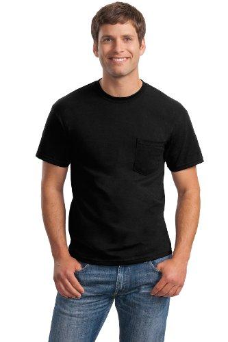 /50 Ultra Blend Pocket Tee Shirt, 3XL, Black (50 Ultra Blend Pocket)