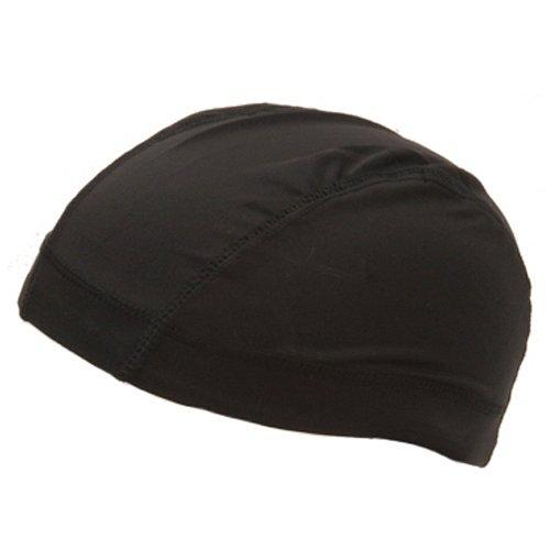 Spandex Dome Cap-Black W15S16D