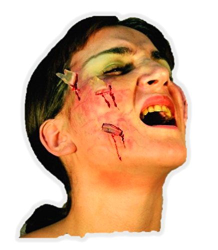 Halloween Face Paint Make Up/Wound/Scar Application Deep Show