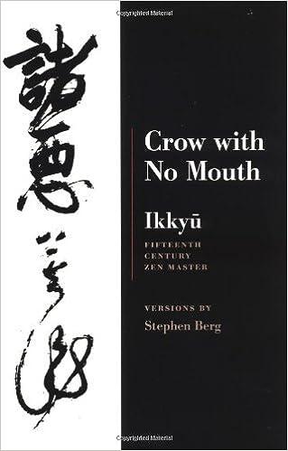 eBooks pour kindle gratuitement Crow with No Mouth by Ikkyu (1-Mar-2001) Paperback PDF B011T6Z0D0