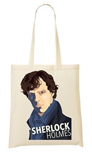À Sac Provisions Fourre Drawing Sac Tout Sherlock q4f8XwUxw