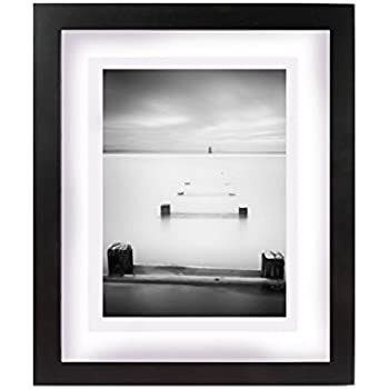 Amazon.com - uxcell 9 x 11.2 Inch Black Photo Picture Frame, Made to ...