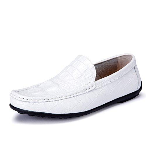 L'uomo vettura Skid di qualit alta della Scarpe guida Casual alla scarpe qtnrSt