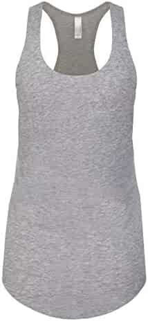 Next Level Ideal Racerback Tank Heather Gray Large (Pack of 5)