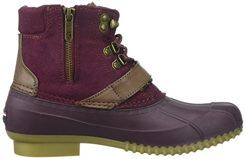 Boot Tommy Women's Hilfiger Burgundy Regin Snow qwfI5wr