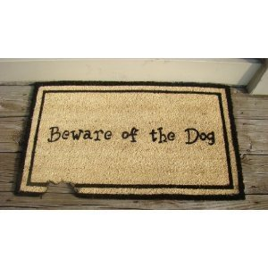 Heavy Duty Dog Coir Welcome Doormat