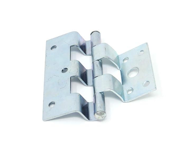 Suncoast Hardware Zinc Plated Steel Offset Trailer/Mobile Home Combination Door Hinge - Pack of 3