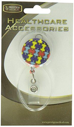 Prestige Medical Retracteze Id Holder, Autism - http://medicalbooks.filipinodoctors.org