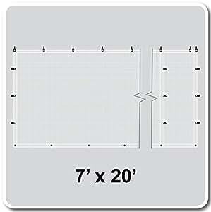 Celina White Mesh Sidewall - 7x30