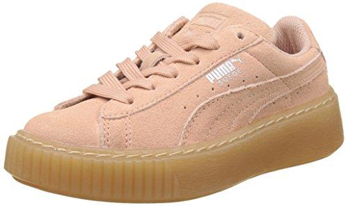 Platform Beige Sneakers Basses peach Ps Enfant Jewel Beige Mixte Suede Puma Beige peach pxqnOwa8