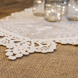 Amazon ivory lace table runner vintage wedding decor 12 x 74 ivory lace table runner vintage wedding decor 12 x 74 inches junglespirit Gallery