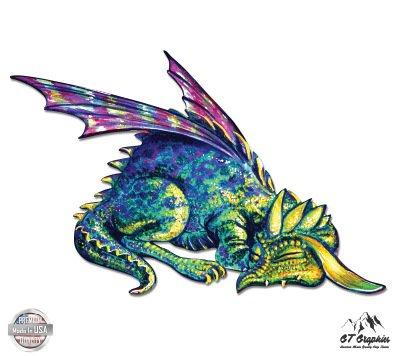 Cute Dragon Sleeping - 3