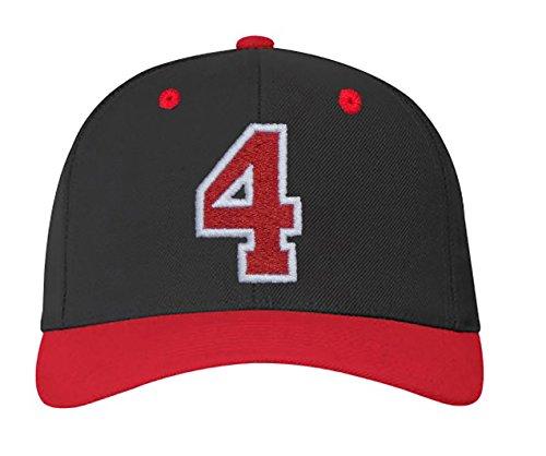4 en letras blanco y Z 4sold 23 a color ABC negro con A carta gorra rojo nbsp;Números FaFUfx1wq