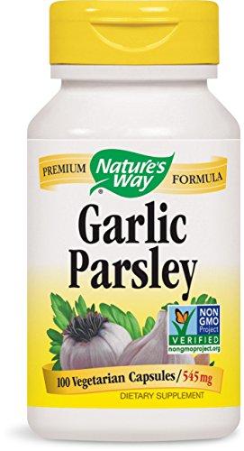 NATURE'S WAY, Garlic-Parsley - 100 Capsules (3 Pack) (Garlic Capsules 100 Parsley)