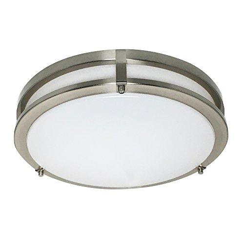 Design House 578641 Design House 578641 Ripon 14.5'' LED Ceiling Light, Satin Nickel by Design House
