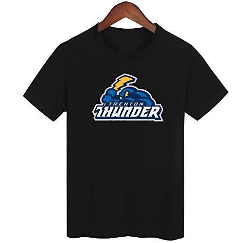 Y_Tees Trenton Thunder Baseball Teams Men's T Shirt M Black
