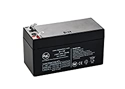 Power PM 12-1.3 12V 1.3Ah UPS Battery - This is an AJC Brand Replacement