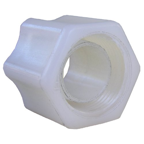 LASCO 19-5207 Compression Fitting with Integral Sleeve Nut and 3/8-Inch OD Nut with Integral Sleeve, Nylon