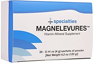 UNDA - Magnelevures - Vitamin Mineral Supplement to Support Cardiovascular and Nervous System* - 30 Servings