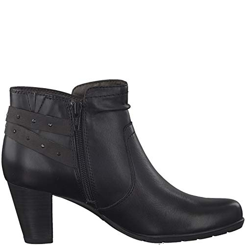 Boots 25347 Jana Ankle Ankle Jana Black 25347 Boots wRC8Oq4
