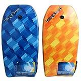 Boggie Board Fiber clad Body Board, 33'' L, (Colors Vary)