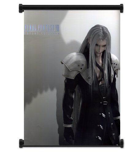 Final Fantasy VII Advent Children Sephiroth Fabric Wall Scroll Poster (32