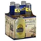 Fentimans Natural Victorian Lemonade Soda, 9.3 Ounce - 4 per pack -- 6 packs per case.