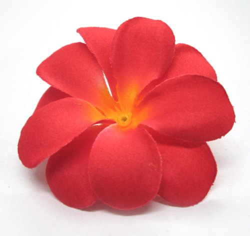 100-Red-Hawaiian-Plumeria-Frangipani-Silk-Flower-Heads-3-Artificial-Flowers-Head-Fabric-Floral-Supplies-Wholesale-Lot-for-Wedding-Flowers-Accessories-Make-Bridal-Hair-Clips-Headbands-Dress