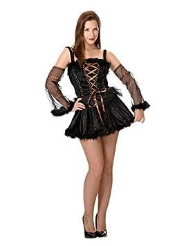 DISBACANAL Disfraz de Bruja pícara Mujer - -, S: Amazon.es ...