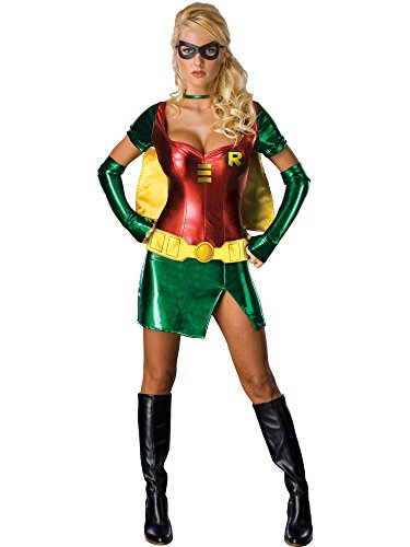 Secret Wishes Batman Sexy Robin Costume, Green, XS (2/4)