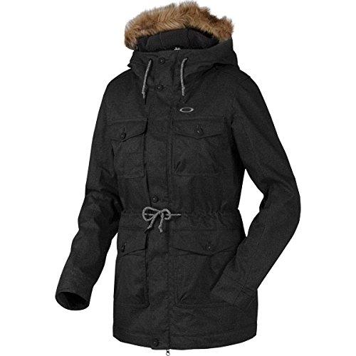 Oakley Women's Tamarack Jacket, Large, Jet - Womens Oakley Jacket Ski
