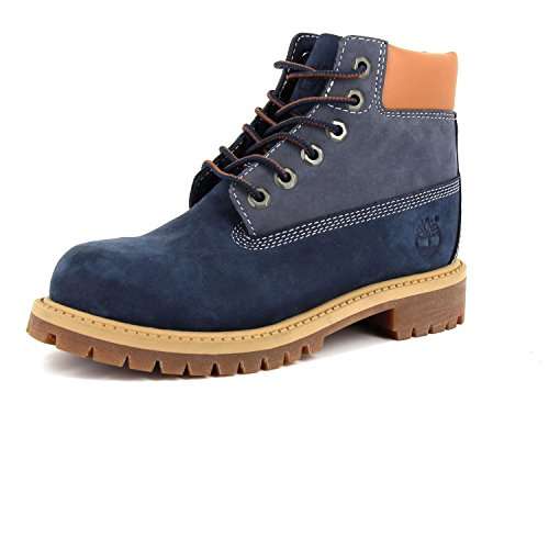 6in Pokey Timberland Blue Mixte Pine Bottines Enfant f4zEvz0