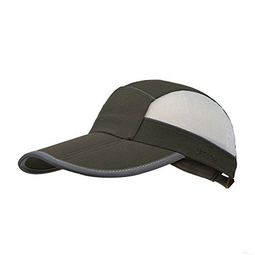 GADIEMKENSD Unstructured UV Baseball Cap Reflective Tape 22-24.4in – DiZiSports Store