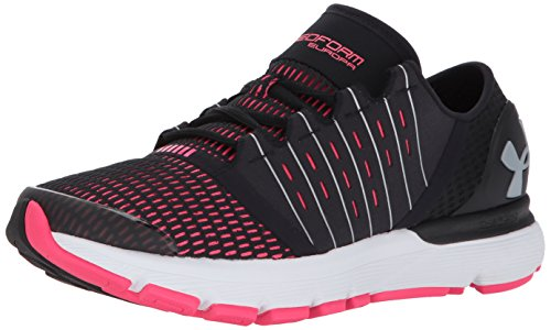 Under Armour Women's Speedform Europa Running Shoe Black (002)/Penta Pink
