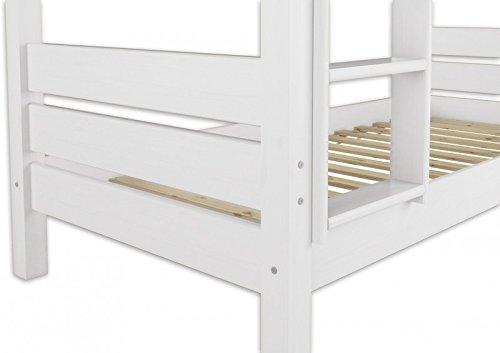 Hochbett Erwachsene 100x200 : Erst holz  w etagenbett für erwachsene weiß