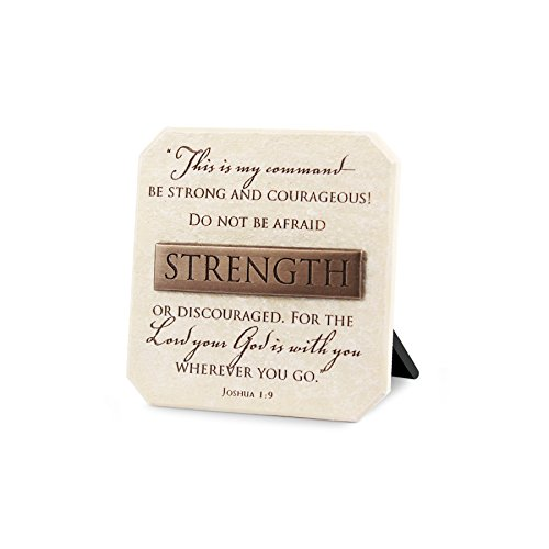 Lighthouse Christian Products Strength Plaque