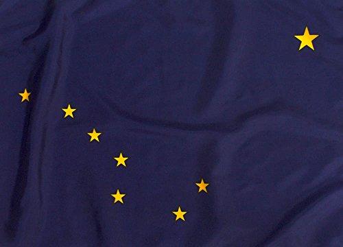 3x5ft Alaska Flag - Highest Quality Outdoor - Flag Alaska