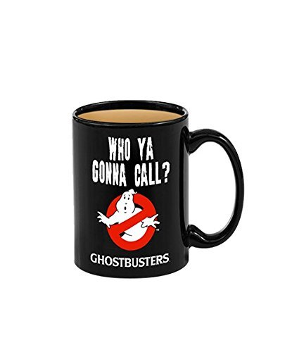 Ghostbusters Heat Reveal Ceramic Coffee Mug With Classic No Ghost Logo ()