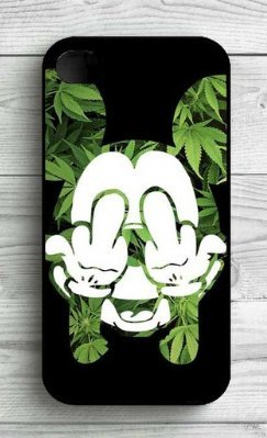 coque weed iphone 7 plus