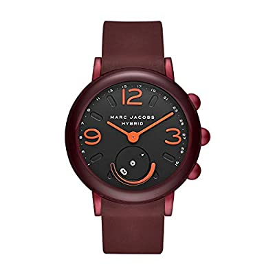 Marc Jacobs Women's MJT1010 Hybrid Smartwatch Analog Display Analog Quartz Red Watch by Marc Jacobs Connected Watches Child Code