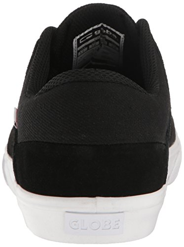 Globe Men's Chase Skateboarding Shoe Black/White supply online cheap sale real zr5uChF
