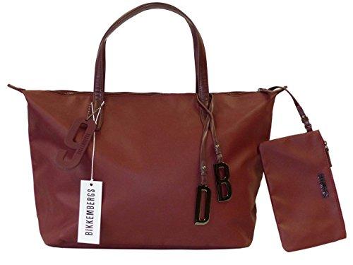 Bikkembergs Damen Shopper 5BDD0902 EW Shopper With Zip D02 DB-Number Amaranth lywHcOs