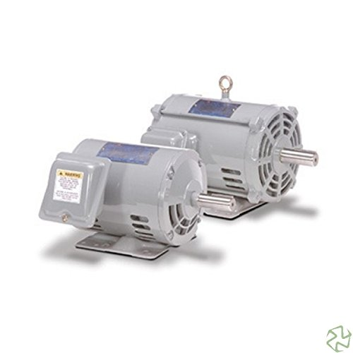 (Teco-Westinghouse DTP0104 Rolled Steel, 10 HP, 1800 RPM, 208/230/460 Volts, 3 Phase, ODP, 215T Frame, Premium, AC Induction)