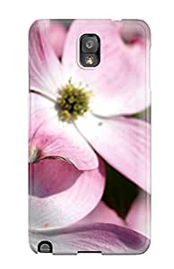 Dolores Phan's Shop Best Tpu Case Skin Protector For Galaxy Note 3 Pink Flowers With Nice Appearance 6433822K14468374