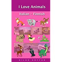 I Love Animals Italian - Finnish
