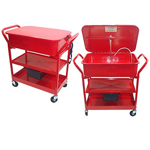 20 Gallon Mobile Parts Washer Cart by Generic (Image #5)