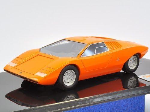 1 43 Lamborghini Countach Lp500 Prototype 1971 Orange Japan Import
