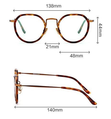 oro KOMNY negro radiaciones marea Frame bastidor Leg azul gafas Gold gafas Equipo Gafas pierna contra Black y modelos las marco Oq6OBw