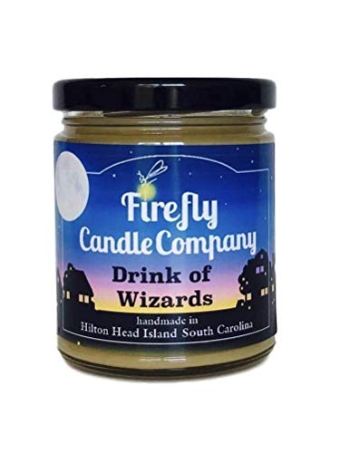 Drink of Wizards Soy Candle - Butterbeer Candle- Harry Potter Inspired Candles 8oz