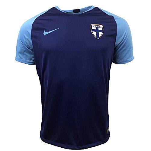 悪意サスペンド不完全2018-2019 Finland Away Nike Football Shirt